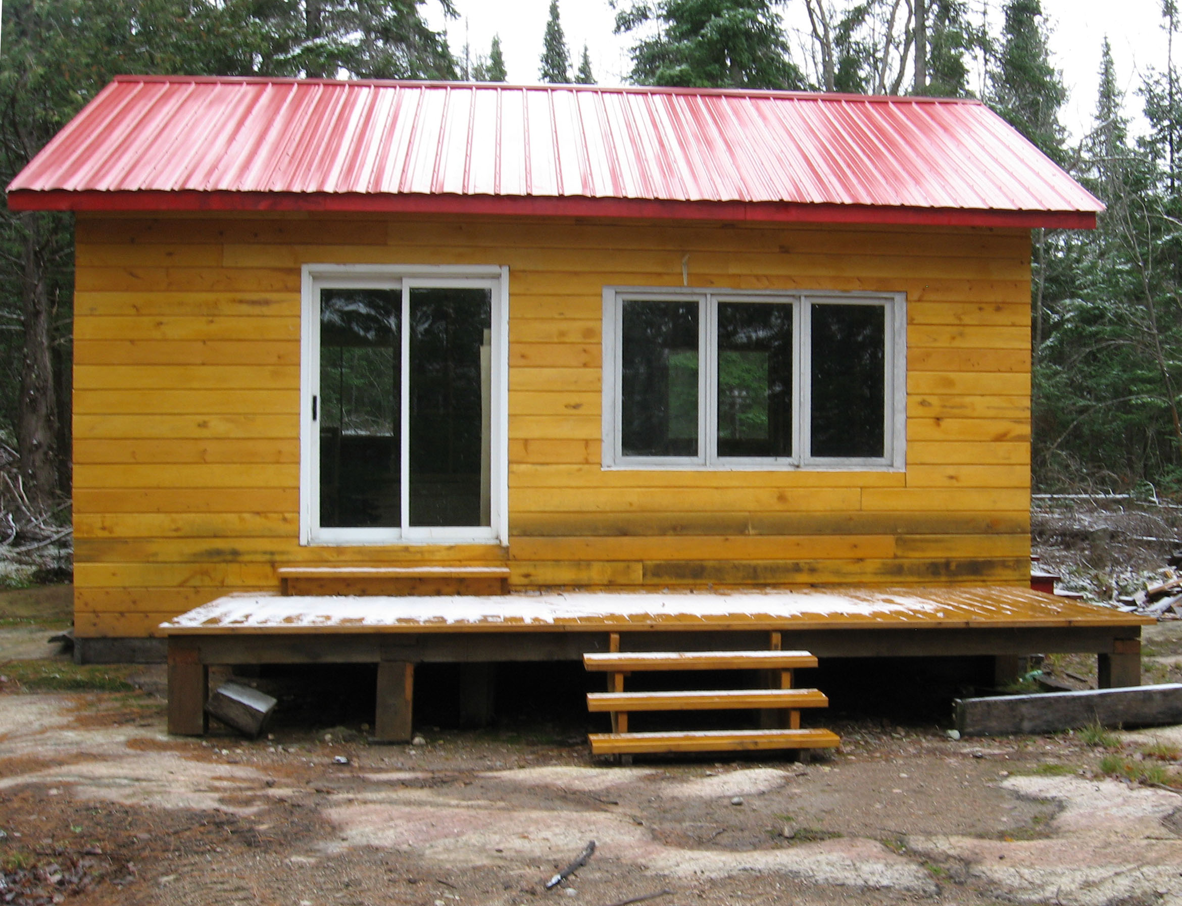 January 2013 woodmaster tools testimonials for Hunting camp house plans