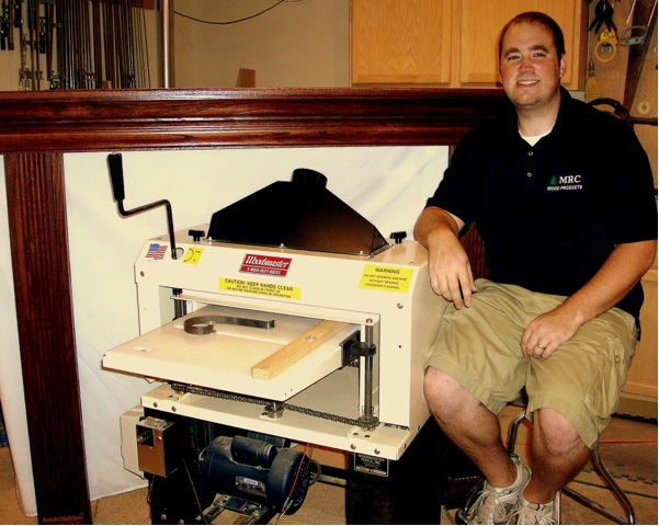 Mike Crowder's a young man earning some big bucks making molding with his Woodmaster Molder/Planer. If Mike can do it, you can, too!