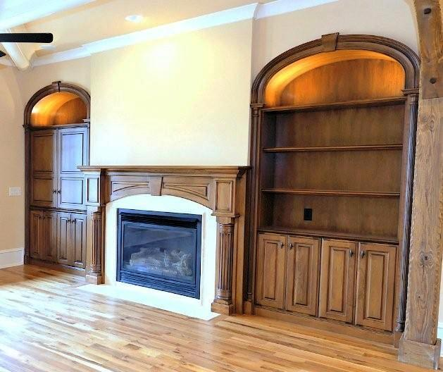 This is a photo of elliptical moldings The Curved Molding Shop produced on the 718 Woodmaster. True elliptical moldings are the most difficult curved moldings to produce.