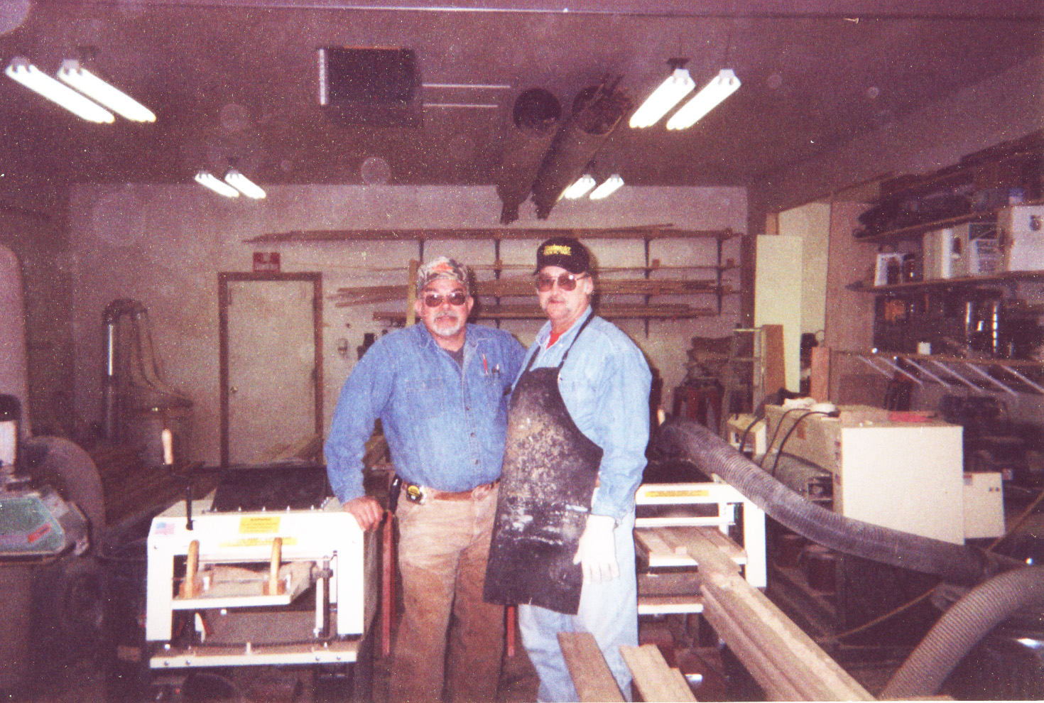 """Our two families are making a good living,"" says James Tolley of South Dakota. ""My partner and I own 5 Woodmaster Molder/Planers. One's set up for planing, one for curved molding, and the others for straight molding. We do a lot of custom woodworking and millwork manufacturing."""