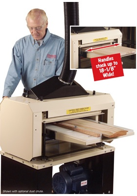 "Here's the 18"" Woodmaster Molder/Planer like the one Ralph uses in his shop."