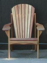 Ralph makes handsome Adirondack-style chairs. His unique innovation: they fold up.