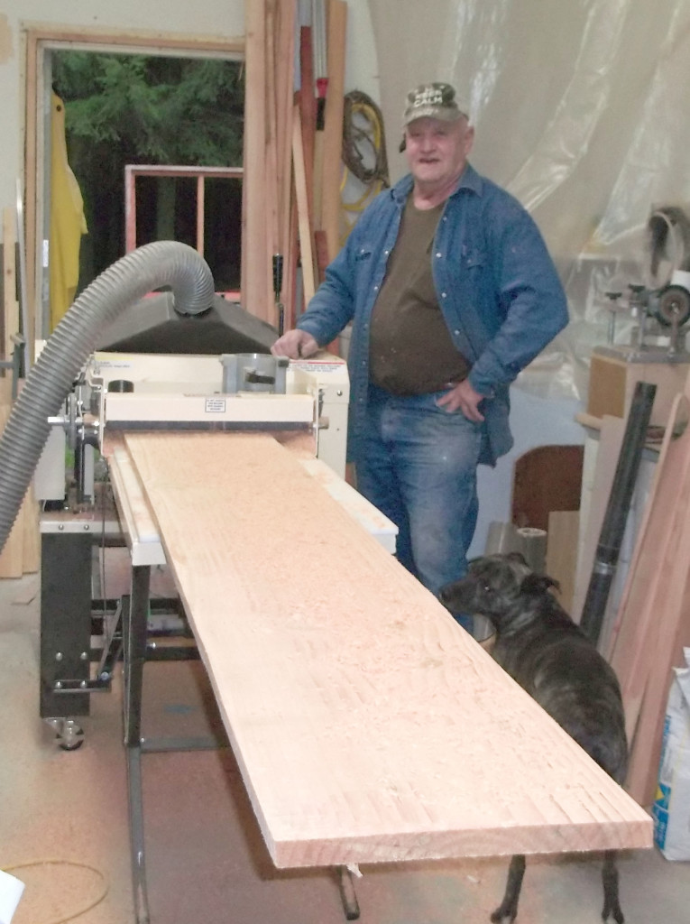 Nick with Planer