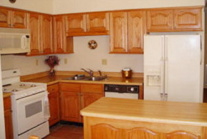 How about a new kitchen? Ed built and installed all the cabinetry.