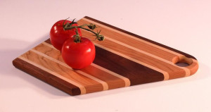 Here's one of Vern's popular pieces — a handsome cutting board.