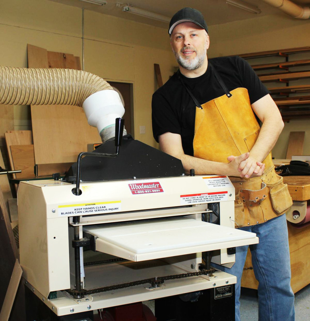 Vern's son, Paul, is an accomplished Woodmaster woodworker, author, and frequent contributor to the Woodmaster Tools Blog.