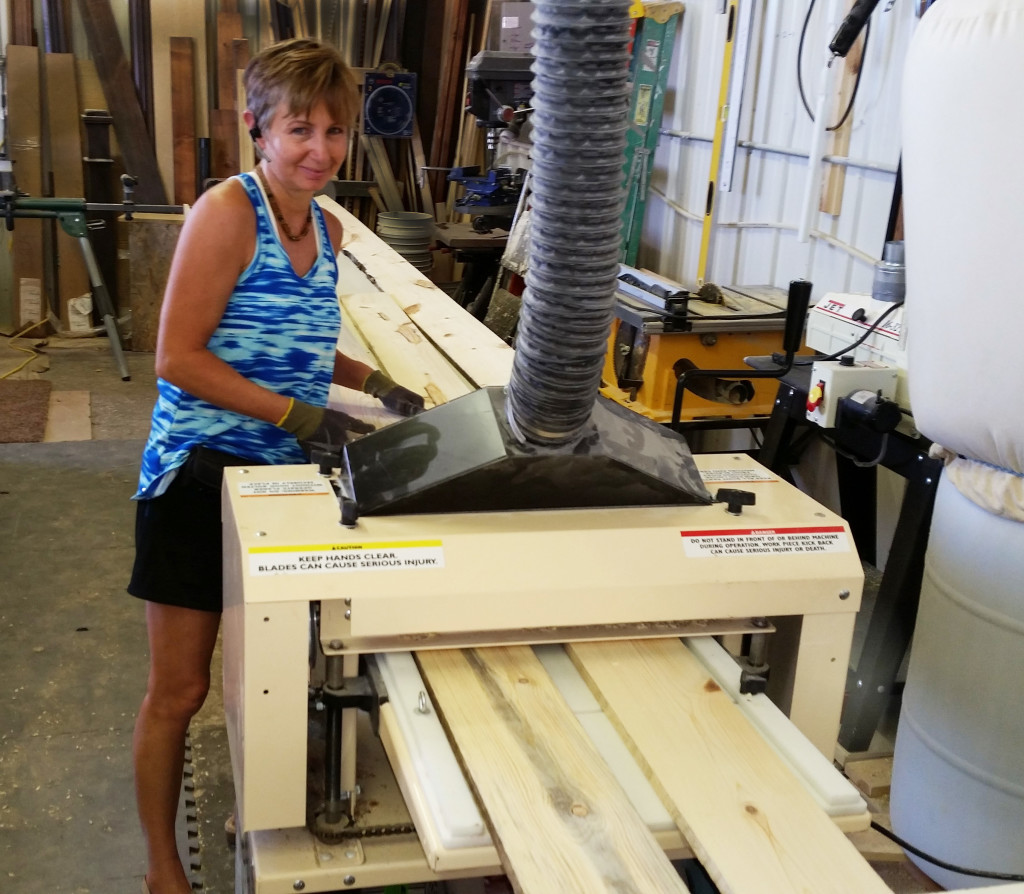 """Craftswoman At Work! Holly Hanke sent in photos and told us about her molding business, """"The Finishing Touch."""""""