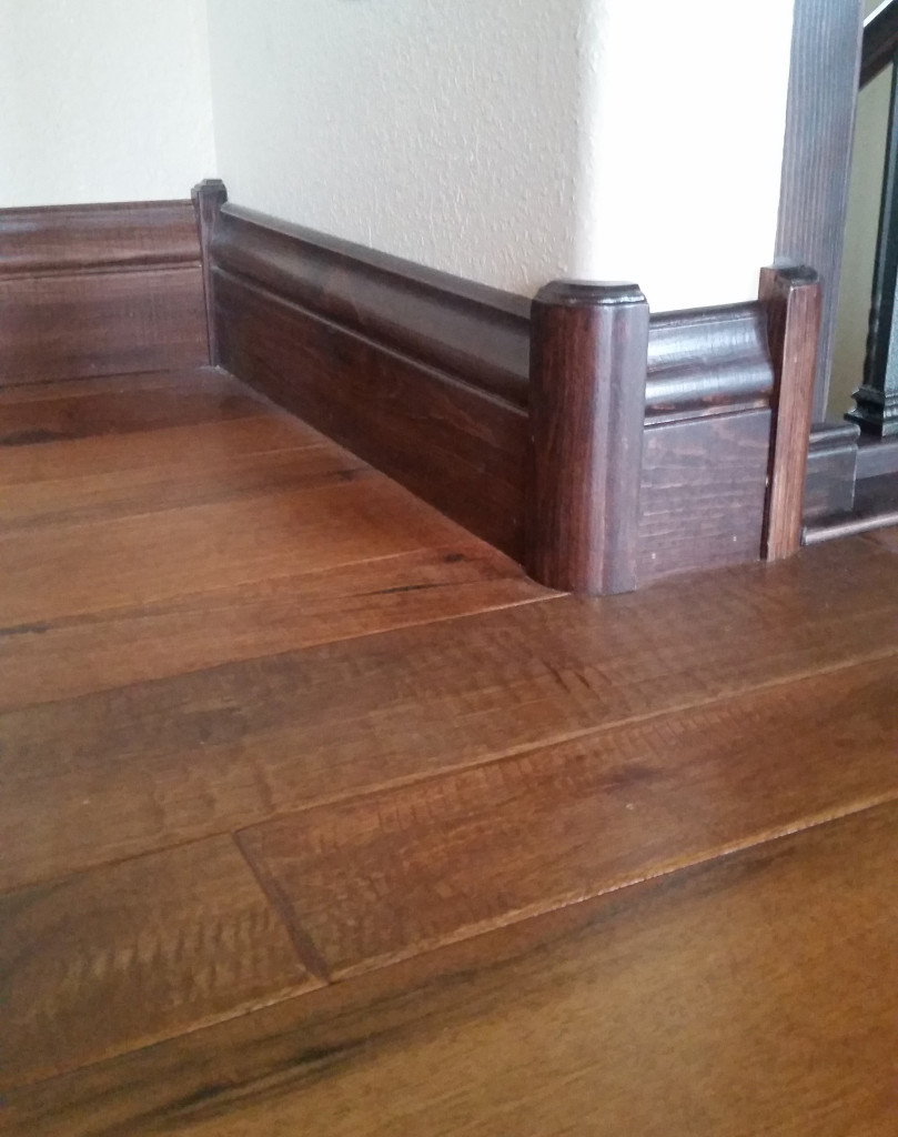 Installed, Holly's trim is a distinguished and high quality finishing touch. Excellent!