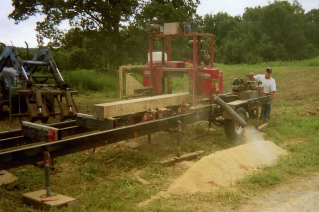 """""""My TimberKing mill paid for itself 2 times over,"""" says Larry. And when it comes to his Woodmasters, """"You can make good money making molding with a Woodmaster."""""""
