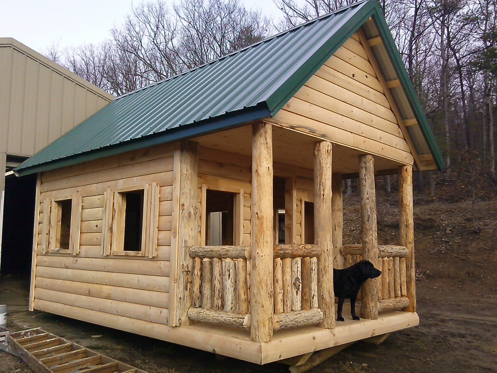 Todd calls this his kids' playhouse. How'd your kids or grandkids like a playhouse like this?
