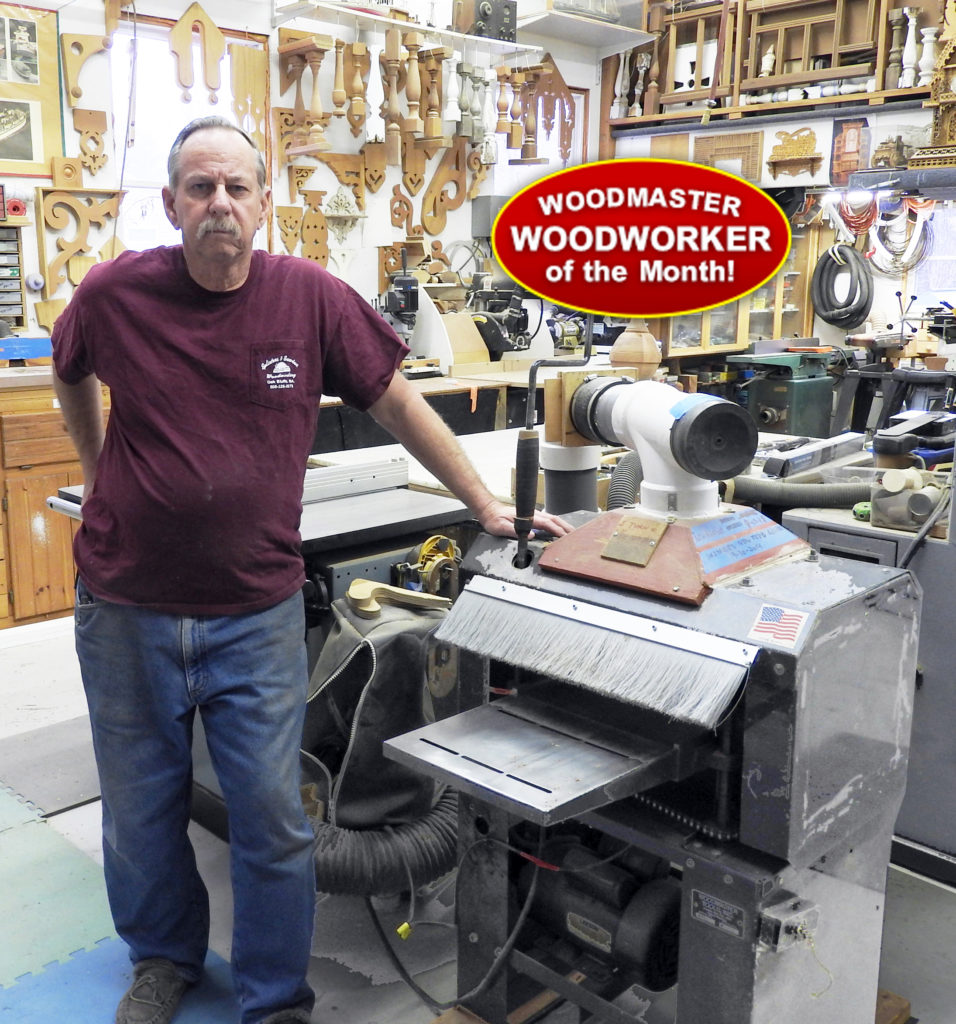 "Meet Rob Gatchell, woodworker and artisan, with his Woodmaster Planer. He's made fretwork and ""gingerbread"" trim for Victorian-era homes for over 50 years."