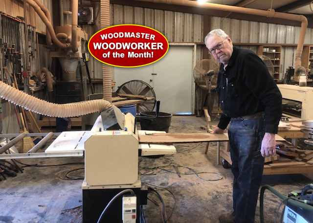 Curtis Wiemers - Woodmaster Woodworker of the Month
